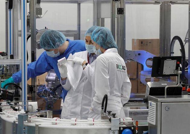 Científicos examinan dosis de la vacuna