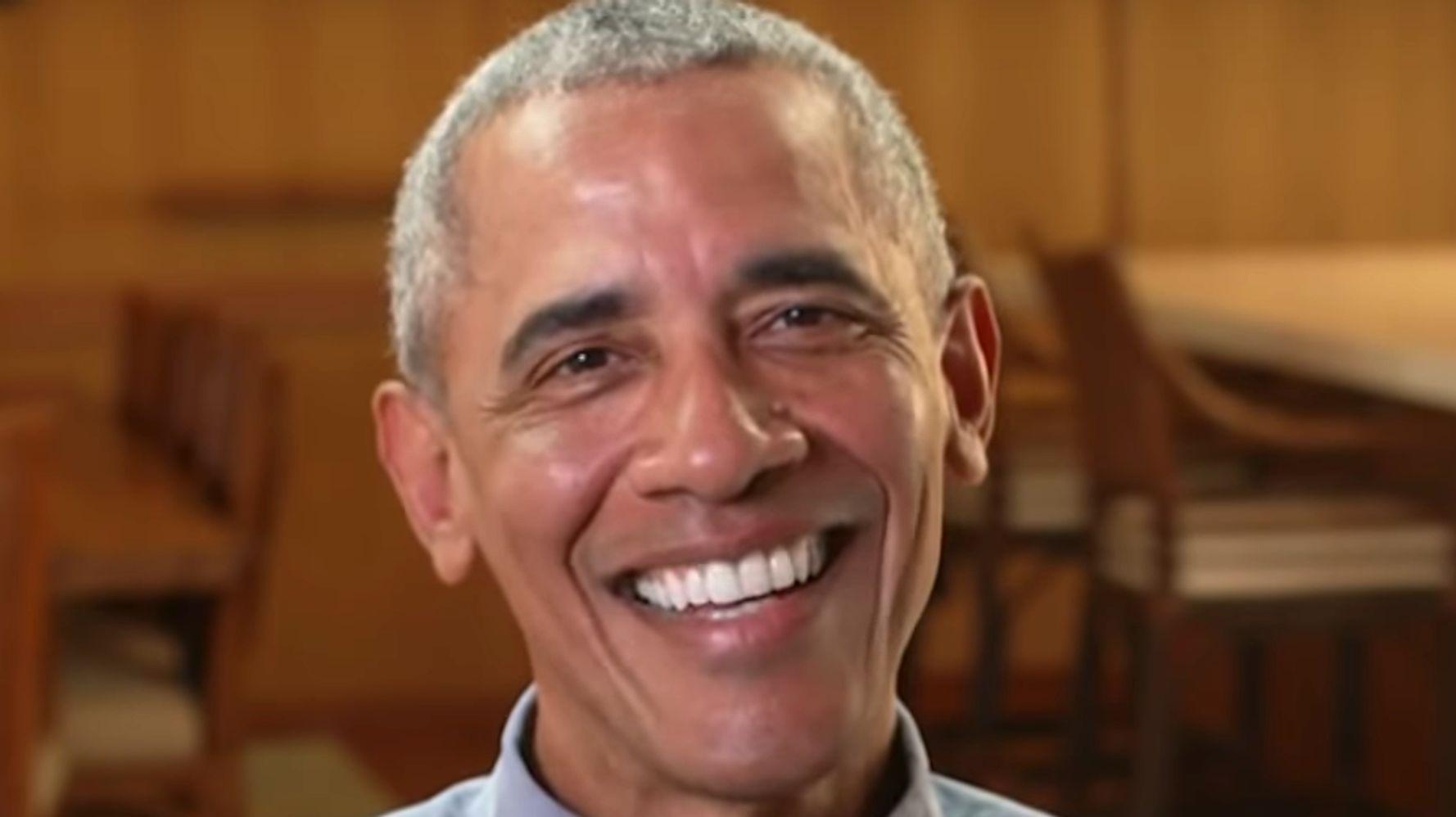 Barack Obama Trolls Donald Trump With Birther Joke