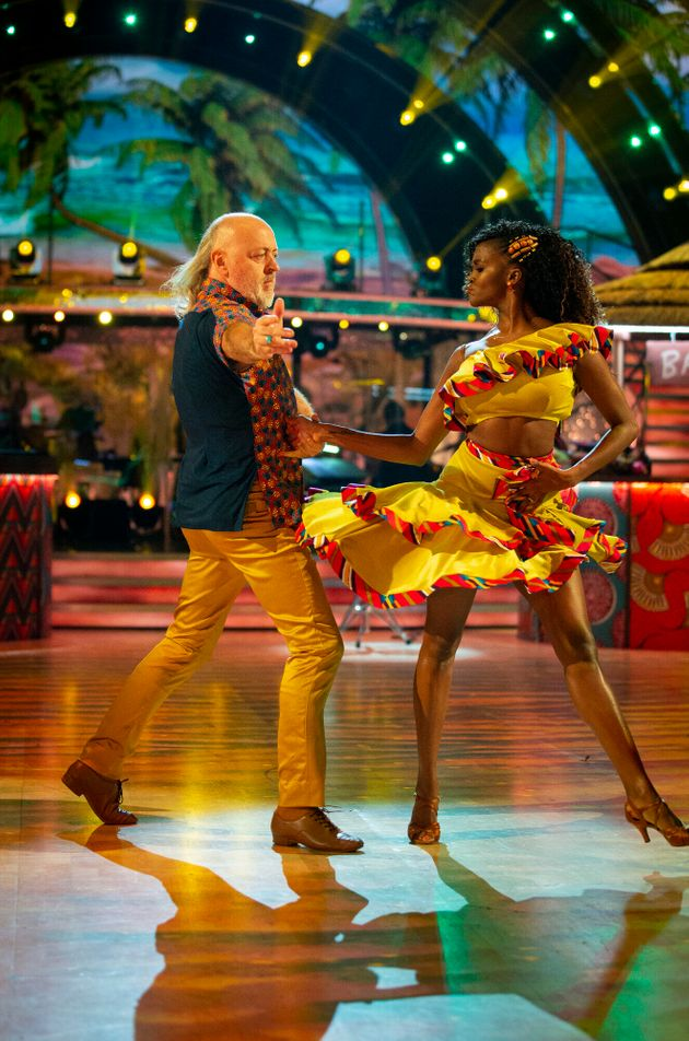 Bill Bailey and Oti