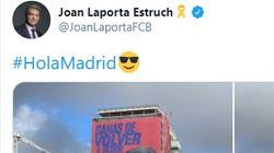 Joan Laporta, 'trending topic' por lo que ha hecho en pleno centro de Madrid: