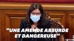 Anne Hidalgo dénonce une amende