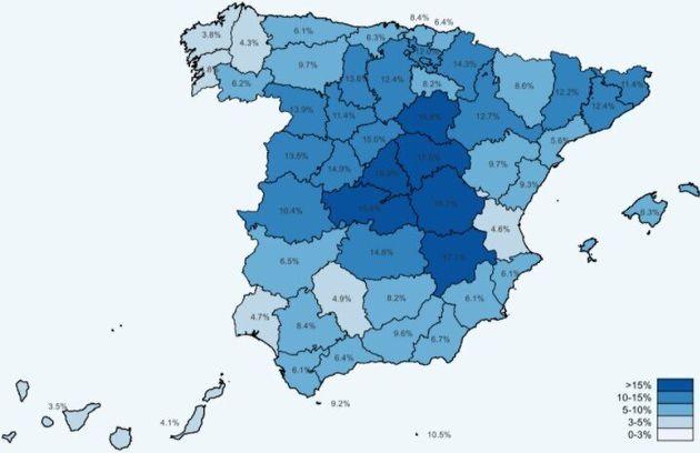 Mapa de seroprevalencia en