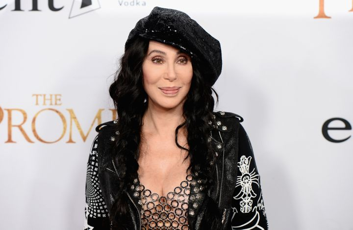 Cher, seen here at a Los Angeles movie premiere in April 2017, elaborated in an interview with The Guardian why she prefers t