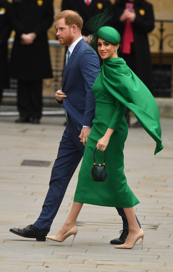 Prince Harry and Meghan Markle on Commonwealth Day in London on March 9,  their last appearance as royals.