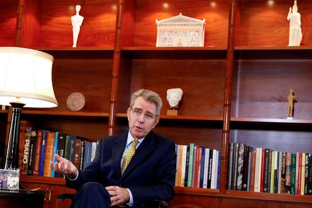 Τζέφρι Πάιατ: Η Ελλάδα μπορεί να δώσει λύσεις στις προκλήσεις που αντιμετωπίζουν οι ΗΠΑ στην Αν.