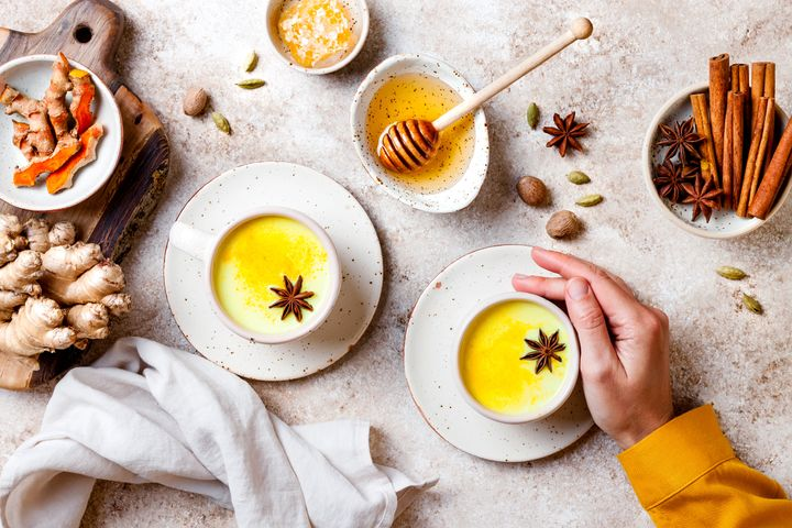 Golden milk is a turmeric-based milk that can help you sleep better.