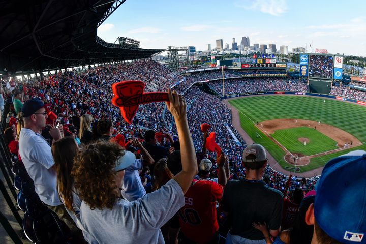 """The racist """"Tomahawk Chop"""" was until recently a staple of Atlanta Braves home games. In 2019, St. Louis Cardinals pitcher Rya"""