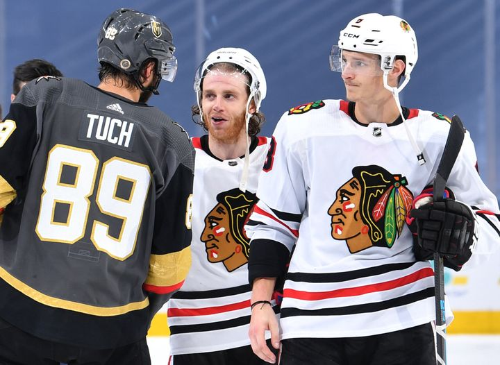 """The NHL's Chicago Blackhawks have said they will keep their name, in the belief that it falls on the right side of """"a f"""