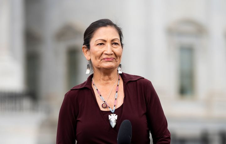 Rep. Deb Haaland (D-N.M.) would make history as the first-ever Native American Cabinet secretary if President-elect Joe Biden