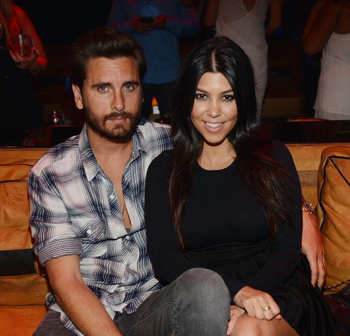 Scott Disick and Kourtney Kardashian pictured back in 2015.