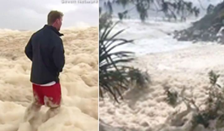 Heavy rain forces evacuations in Australia, but conditions to ease soon.