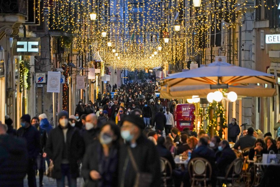 Crowded streets in Rome and other city centres have concerned the Italian government. Leaders will meet...
