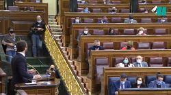 Tensión en el Congreso: Adriana Lastra interrumpe enfadada a Pablo Casado y este le