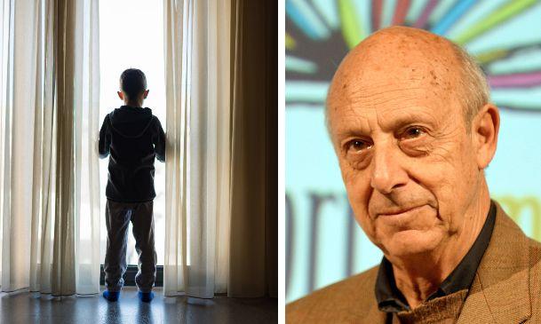 A destra, lo psicanalista dell'età evolutiva Massimo Ammaniti