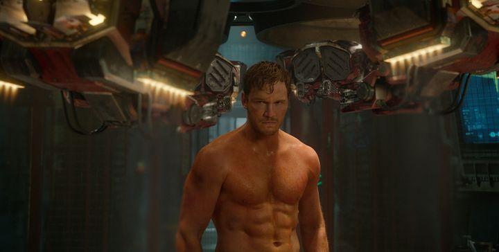 Chris Pratt interprète Star-Lord dans l'adaptation au cinéma des «Gardiens de la Galaxie».