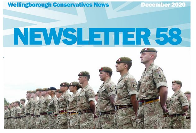 Wellingborough Conservatives December newsletter has been passed to