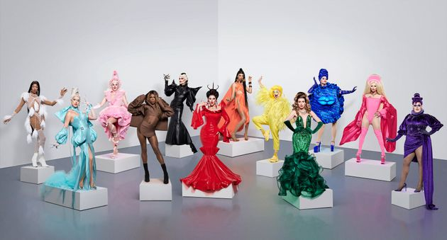 The cast of Drag Race UK series