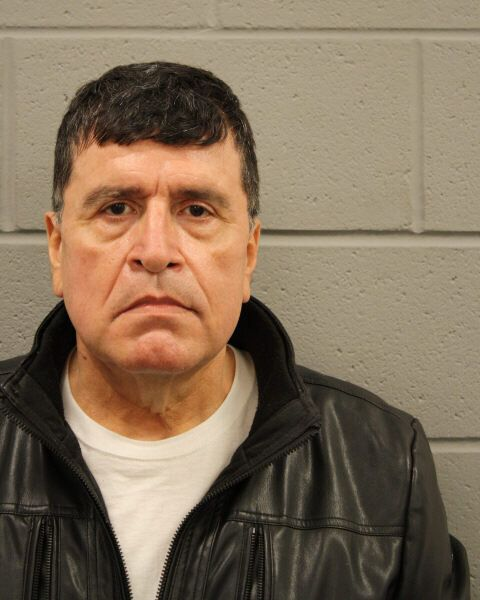 Former Houston Police captain Mark Anthony Aguirre, 63, was arrested on Tuesday after accused of threatening...