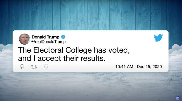 What Jimmy Fallon said Trump tweeted.