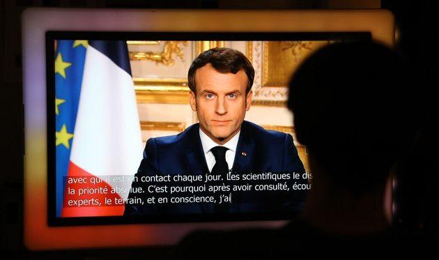 Macron se justifie sur l'emploi de l'expression