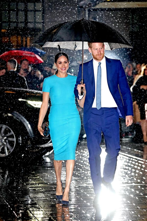 Prince Harry and Meghan Markle at the Endeavor Fund Awards in London on March 5.