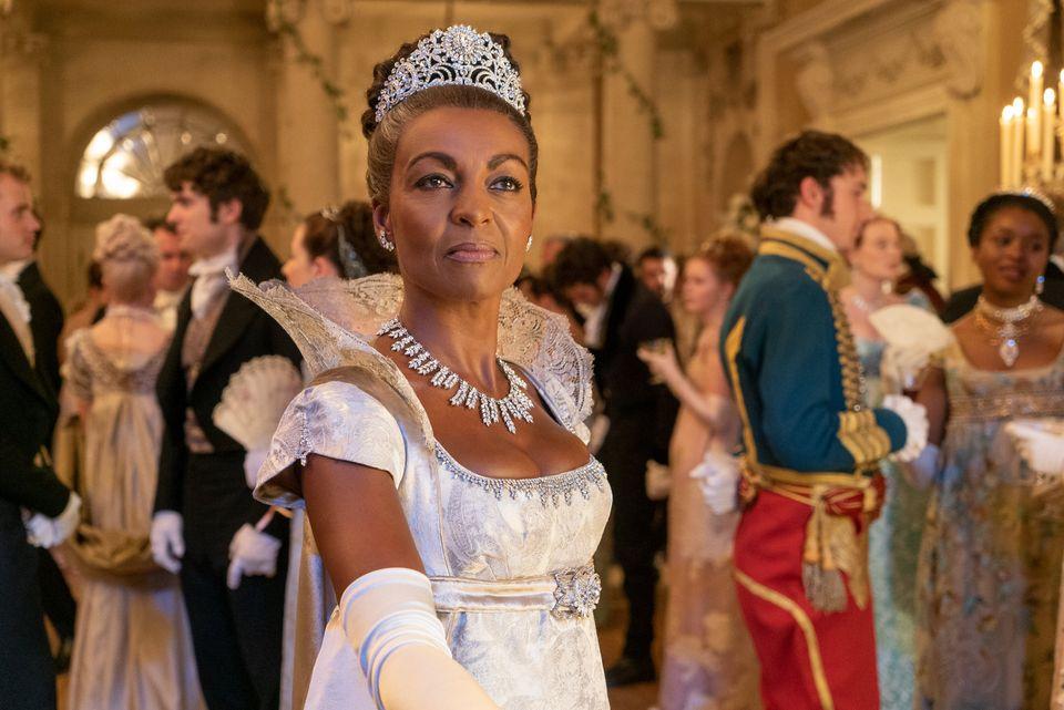 Adjoa Andoh as Lady Danbury in