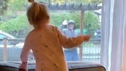 Daily Dance-Off Between Toddler And Mailman Is Peak