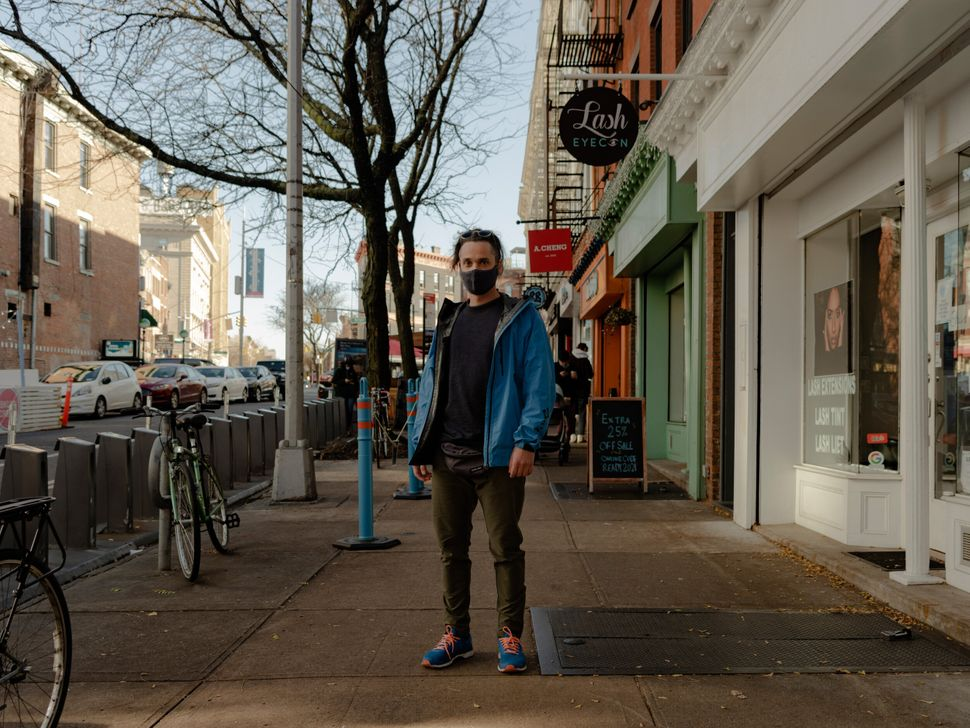 """Alexander Gorchakov came to the U.S. from Moscow to visit his girlfriend. """"First of all, I was surprised to find out that U.S. allows travelers from Russia without any restrictions, and it was even more confusing to realize that there are different states' restrictions."""" New York has a 14-day quarantine requirement, but not for people who are passing through, so Alexander and his girlfriend went to California for a few days and returned to New York a day before his flight back to Moscow. He was able to explore New York a little bit, mostly on foot, and enjoyed the absence of crowds. """"I don't like to [be] surrounded by people, so this is perfect for me. And it's interesting to see New York like that but still maintaining its spirit."""""""