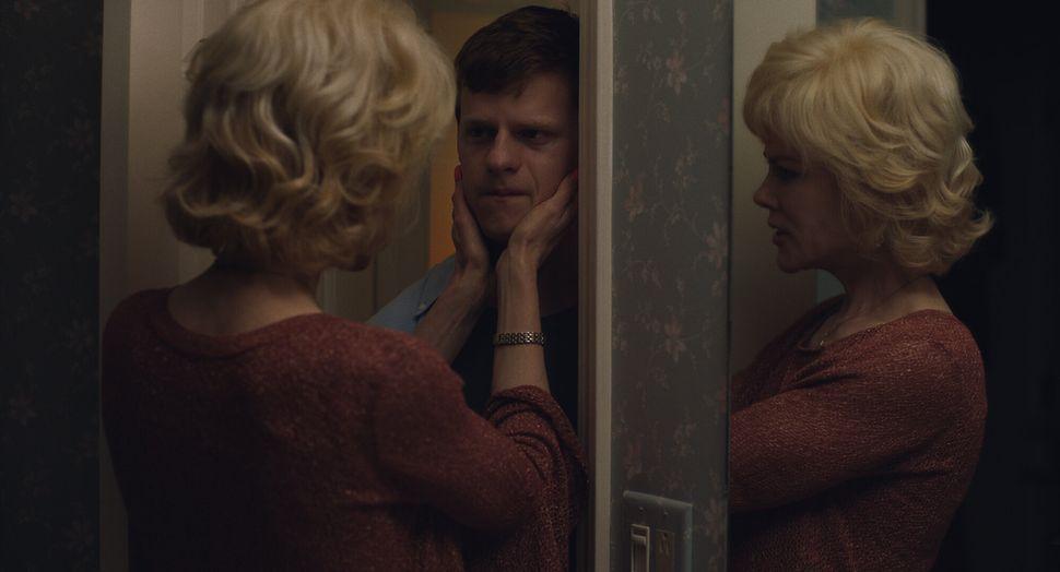 "Nicole Kidman and Hedges in ""Boy Erased."""