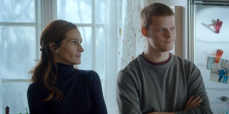 """Julia Roberts and Hedges in """"Ben Is Back."""""""