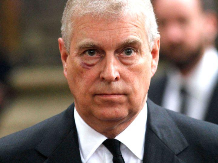 Prince Andrew, Duke of York in London on June 27, 2017.