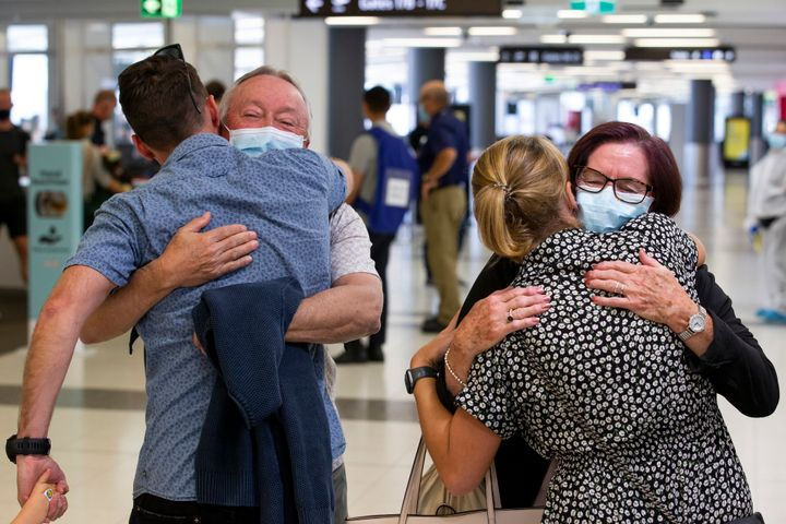 While domestic state and territory border bans have been lifted, Australians will have to wait much longer to travel overseas to visit loved ones.