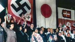 「日独伊三国同盟の祝賀会」から80年。登壇した子供たちに笑顔は少なかった【カラー化写真】