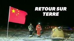 La sonde chinoise Chang'e 5 de retour sur Terre avec des bouts de