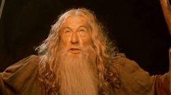 Gandalf recibe la vacuna del coronavirus y manda un potente