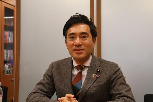 矢倉克夫参議院議員(公明党)。ヘイトスピーチ解消法の実現にも携わった
