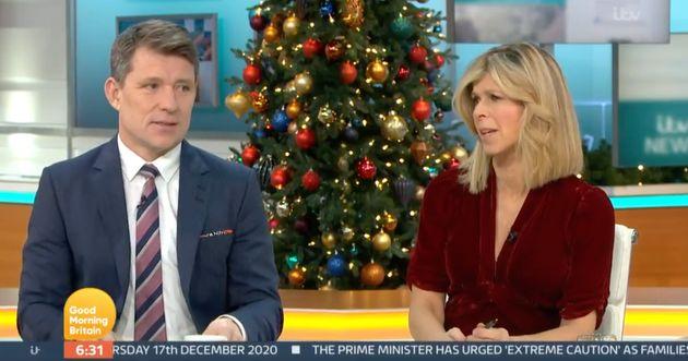 Ben Shephard and Kate Garraway on Good Morning