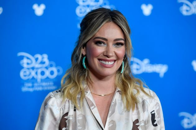 Hilary Duff lors du D23 Disney+ au Convention Center le 23 août 2019, en
