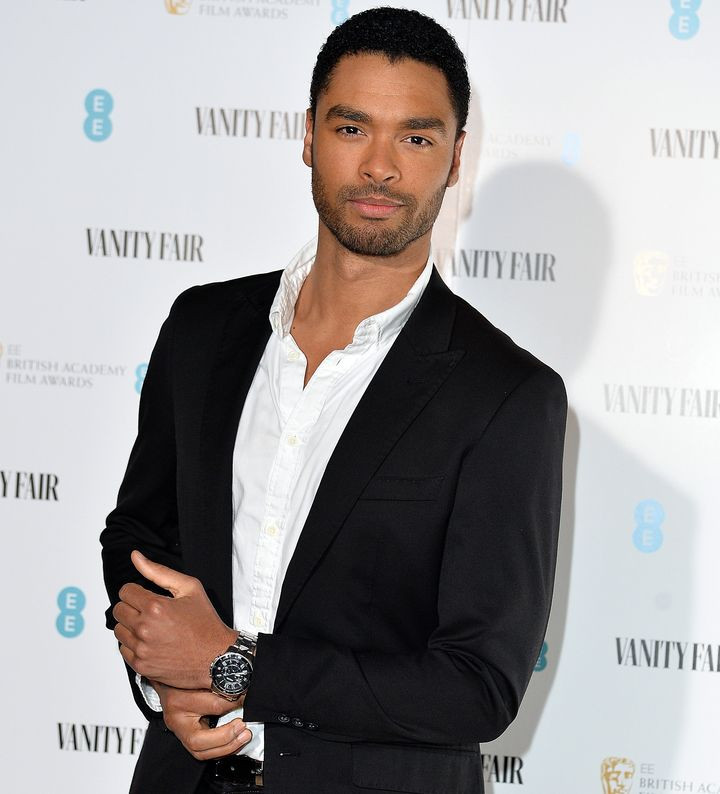 Regé-Jean Page attends the Vanity Fair EE Rising Star BAFTAs Pre Party earlier this year