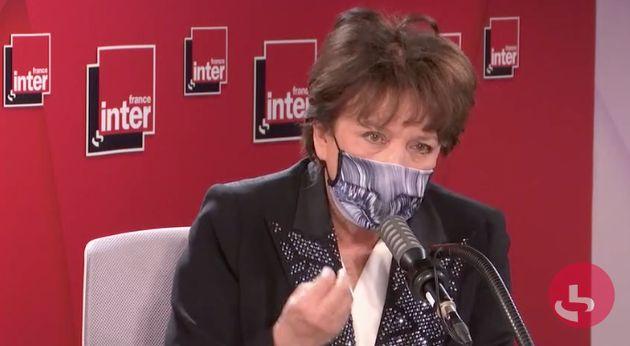 Roselyne Bachelot, ici au mois de décembre sur France Inter, continue les négociations...