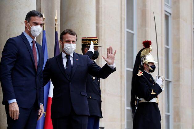 Emmanuel Macron et Pedro Sanchez se sont rencontrés le 14 décembre l'Elysée....