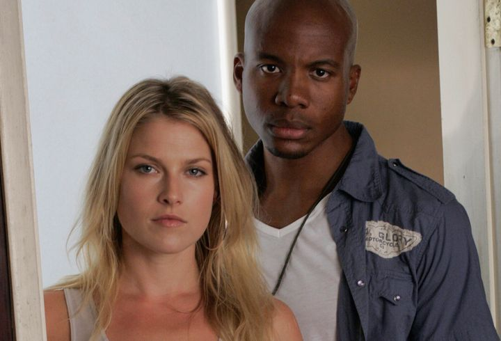 """Ali Larter and Leonard Roberts played husband and wife on the hit NBC series """"Heroes."""""""