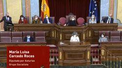 La aplaudida respuesta de una diputada del PSOE cuando le dicen que se puede quitar la