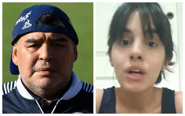 Diego Armando Maradona;Magalí