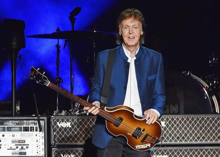 Don't call Paul McCartney cute.