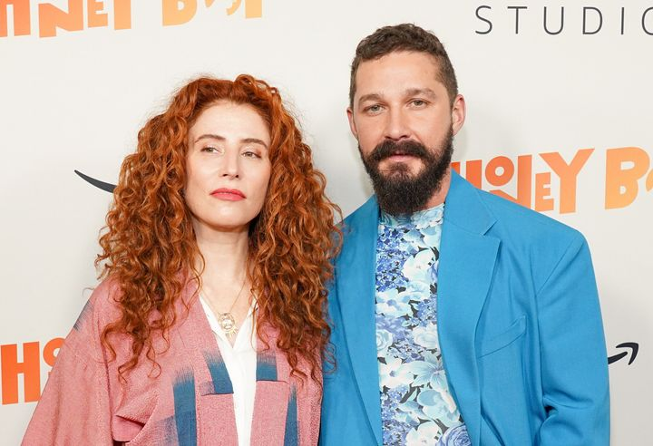 "Alma Har'El and Shia LaBeouf attend the premiere of ""Honey Boy"" in November 2019."