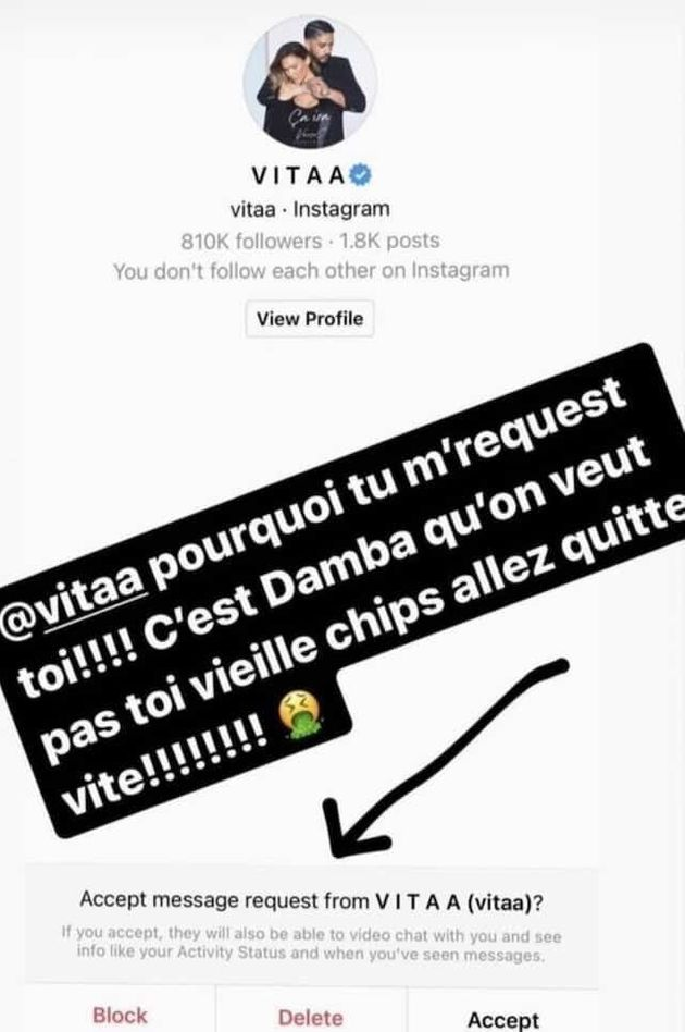 Booba a été définitivement banni d'Instagram après l'avoir suivi