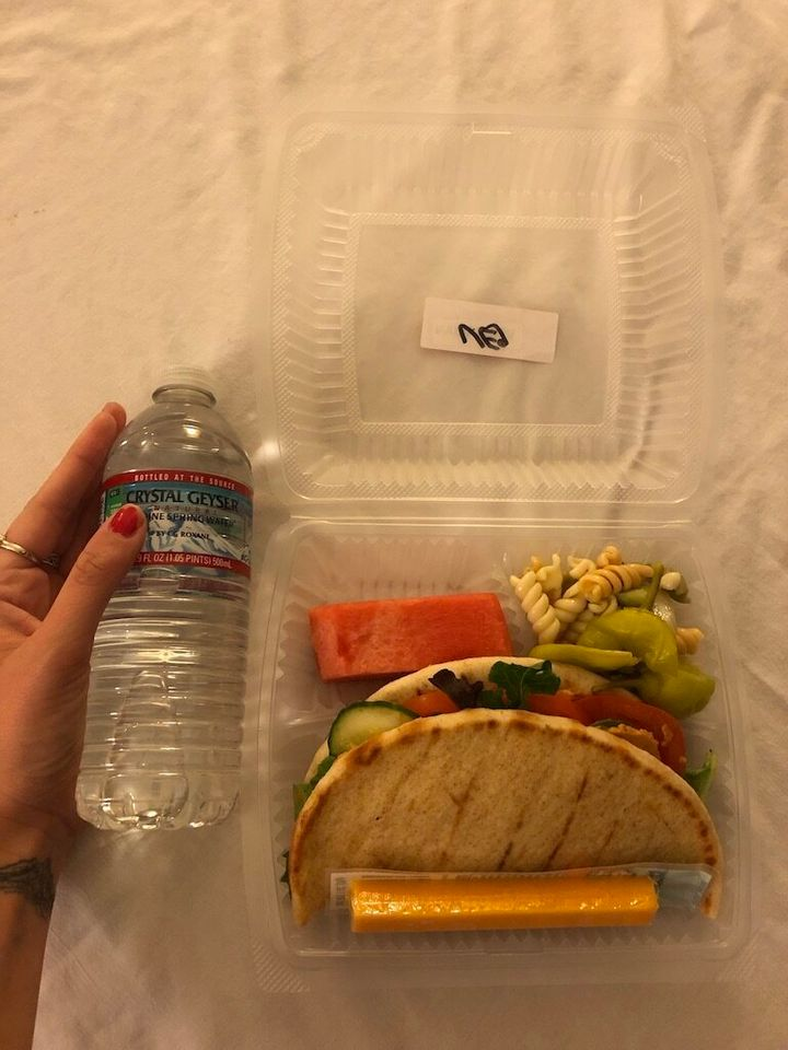 Lunch, Day 3