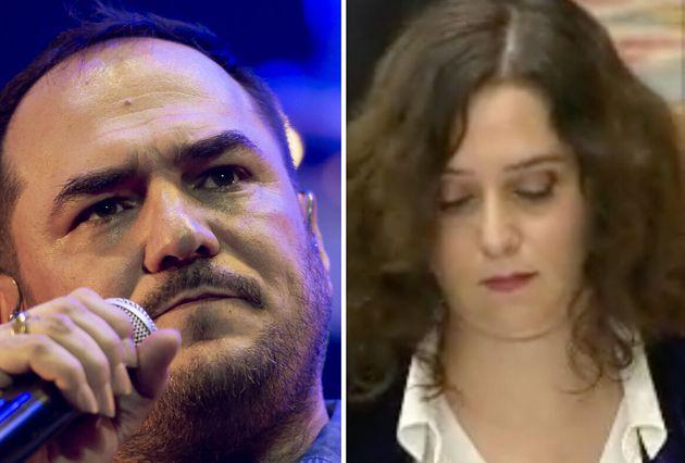 Ismael Serrano e Isabel Díaz