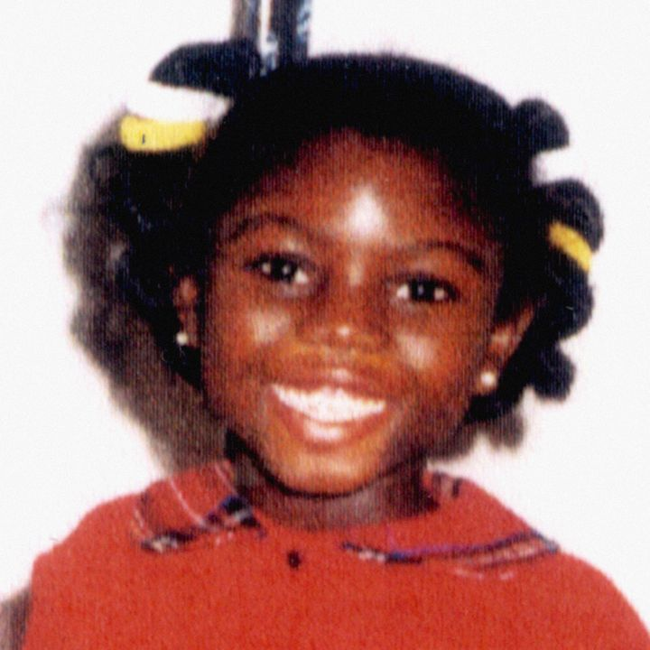 Victoria Climbie who died at the age of eight in 2000 after being murdered by her aunt and her aunt's boyfriend who believed she was possessed by an evil spirit.
